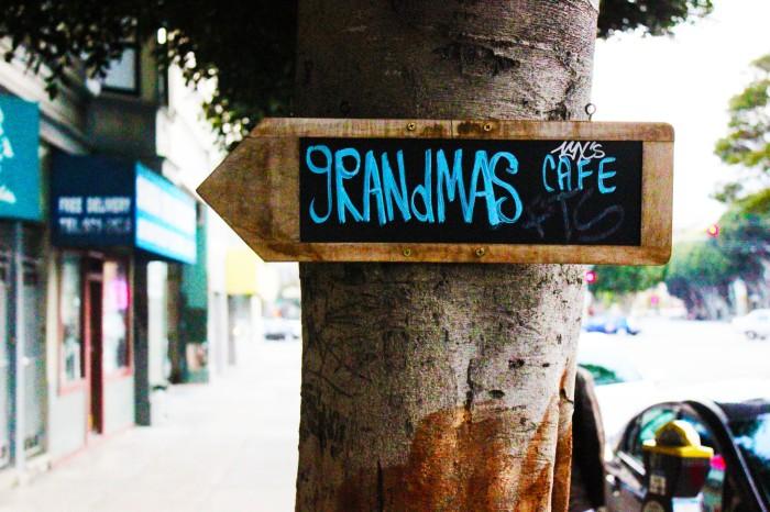 Grandma's Cafe in San Francisco