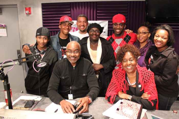 Richmond High's BSU on Street Soldiers Radio