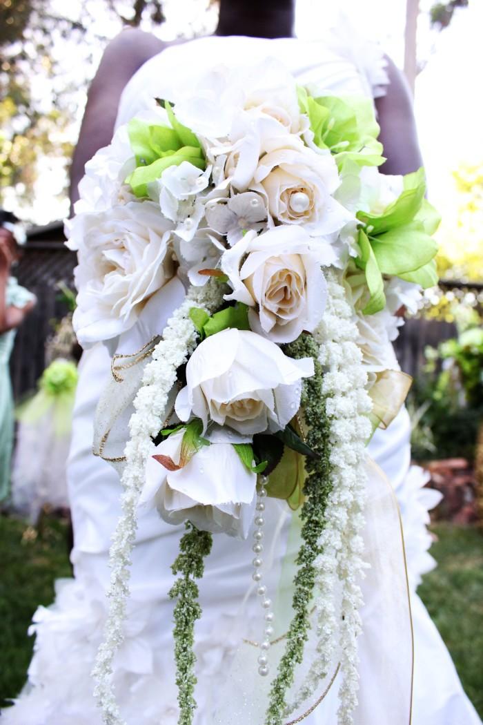 Wedding Bouquet at Fern Grove