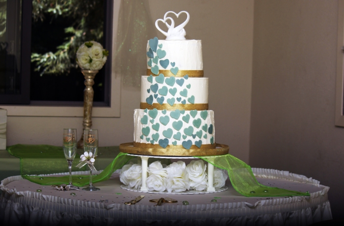 Wedding Cake at Fern Grove